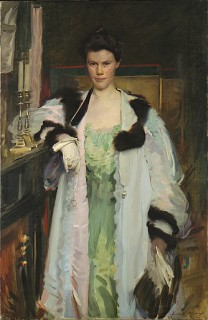 1901 Bertha Hallowell Vaughan by Celia Beaux