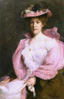 1901 Lady in Pink