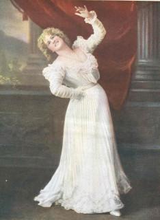 1901 Marie Studholme stage