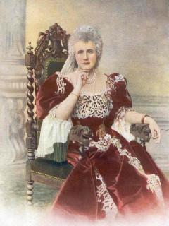 1901 Queen Elisabeta of Romania (