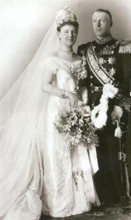 1901 Queen Wilhelmina wedding picture