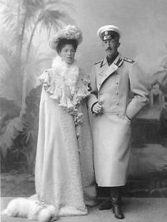 1901 Romanov couple