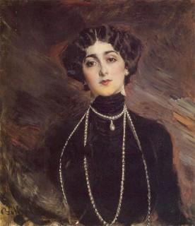 1901 Lina Cavalieri by Boldini