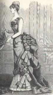 Harpers Bazaar 1884