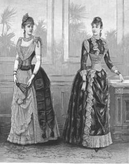Harpers Bazaar 1889