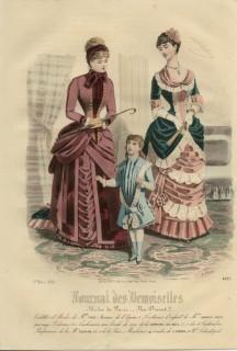 Journal des Desmoiselles March 1884