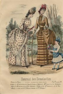 Journal des Desmoiselles August 1885