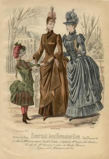Journal des Desmoiselles December 1887