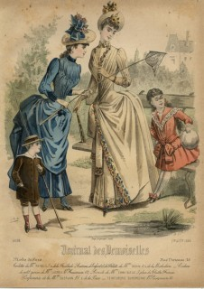 Journal des Desmoiselles August 1888