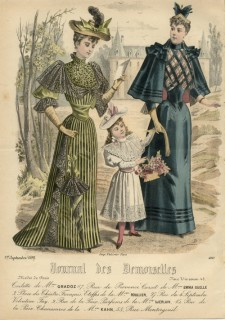 Journal des Desmoiselles September 1892