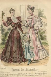 Journal des Desmoiselles August 1893