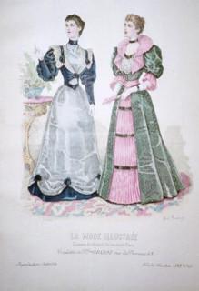 La Mode Illustree 1885