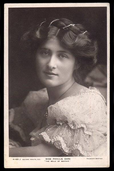 1906 Phyllis Dare in The Belle of Mayfair
