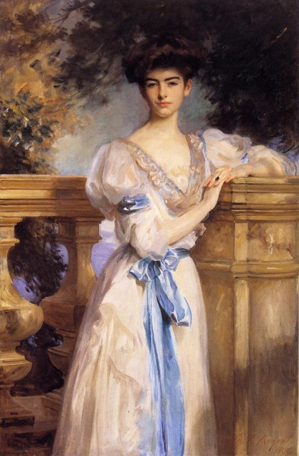 1906 Gladys Vanderbilt by Sargent (private collection) Athenaeum