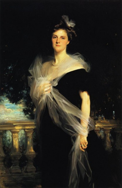 1906 Mrs. Harold Harmsworth by Sargent (private collection) Athenaeum