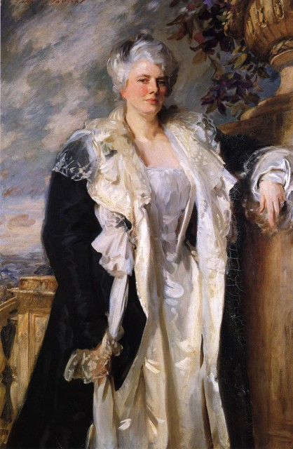1906-1909 Mrs. Ernest Hills by Sargent (Bradford Art Galleries and Museum) Athenaeum