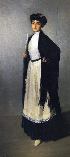 1906 Modiste of Madrid by Robert Henri (private collection) Athenaeum