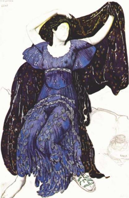1911 Bakst design