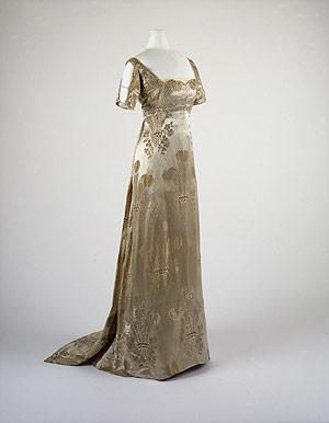 1911 debutante gown