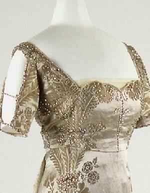 1911 debutante gown bodice