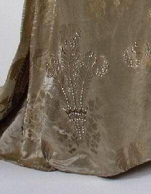 1911 debutante gown hem