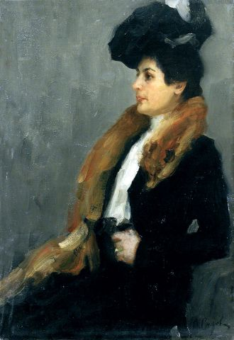 1911 Anna Gindus artist and location unknown