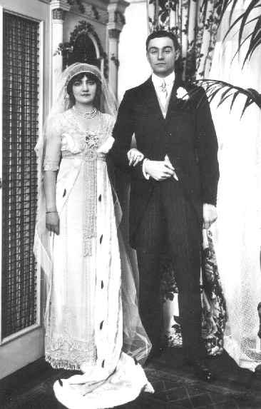 1911 Lily Elsie wedding