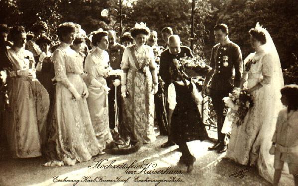 1911 Zita of Bourbon Parma's wedding 1