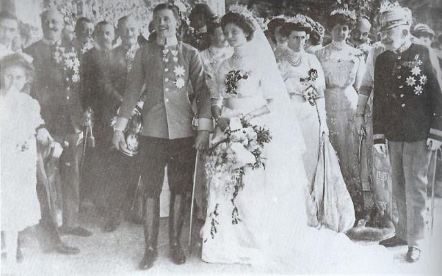 1911 Zita of Bourbon Parma's wedding 2