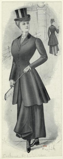 1911 riding gear