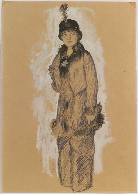 1913 woman by Strohofer