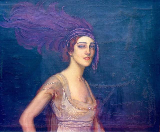 """1913 Ida Rubinstein by Antonio de la Gandara (artist""""s family collection)"""
