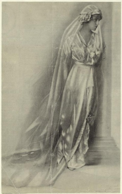 "1913 Margaret Wilson, daughter of President from Leslie""s Weekly"