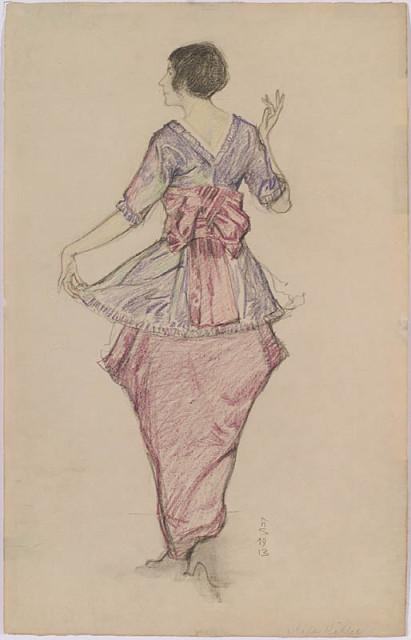 1913 Mela Koehler Strohofer