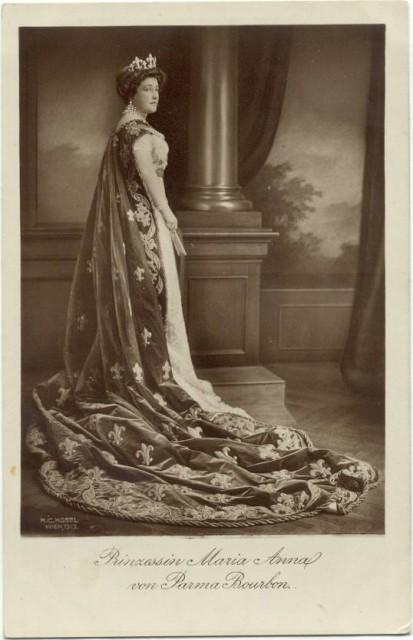 1913 Princess Maria Anna de Bourbon-Parma