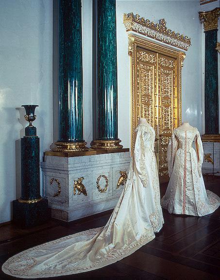 "1913 Tatiana Nikolaievna""s court dress"
