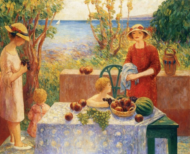 1913 Champigné by Henri Lebasque (private collection) Athenaeum