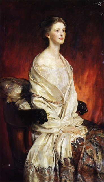 1913 Sylvia Harrison by Sargent (private collection) Athenaeum