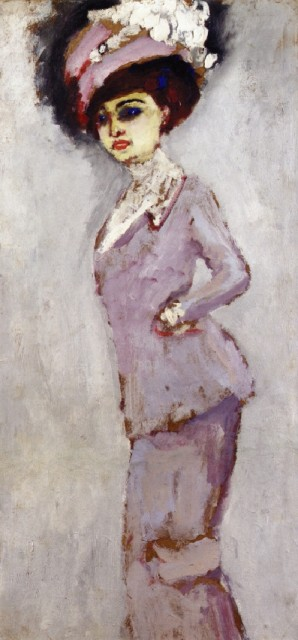 1913ca. Elegant Woman In a Hat by van Dongen (private collection) Athenaeum