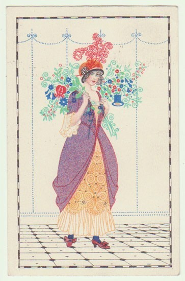 1913 Mehla Kohler style card (at www.Collect.at)