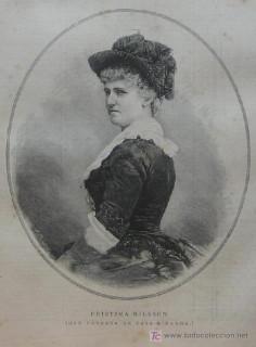 1887 Christina Nilsson, Duquesa de Casa Miranda