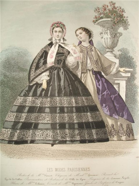 Les Modes Parisiennes by Francois-Claudins Compte-Calix 1