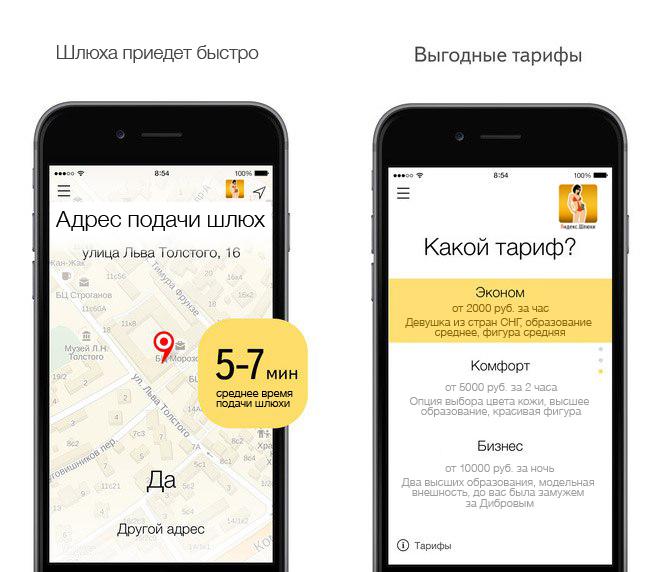 Яндекс шлюхи