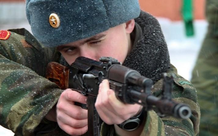 русский стрелок картинки переносят смену температуры