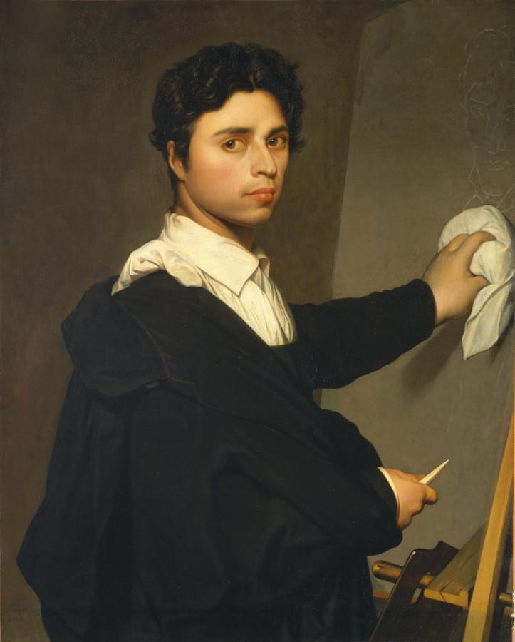 _Madame Gustave Hequet (1845-1865). Портрет Энгра в образе молодого человека (1850-1860) (88.4 х 69.9 см) (Нью-Йорк, Метрополитен)