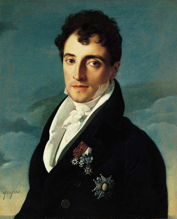 1805-1806_Барон Иосиф-Пьер Vialetes de Mortarieu (61.2 х 50.2 см) (Пасадена, музей Нортона-Саймона)