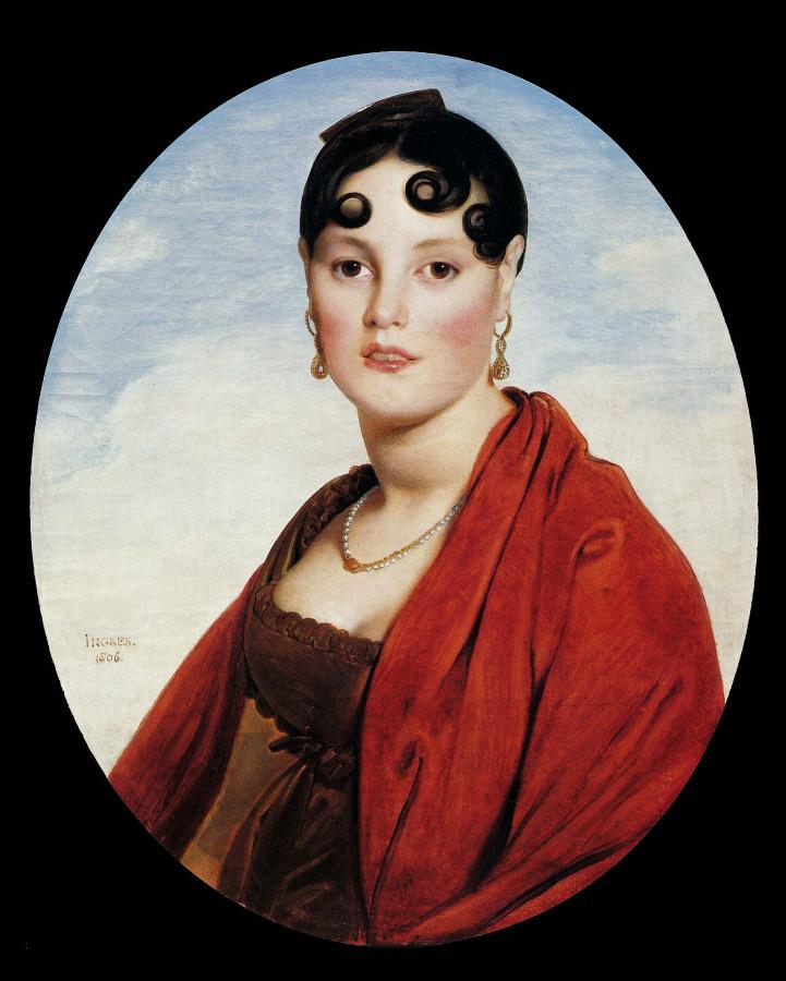1806_Портрет мадам Аймон (49 х 59 см) (Руан, Музей изобразит. искусств)