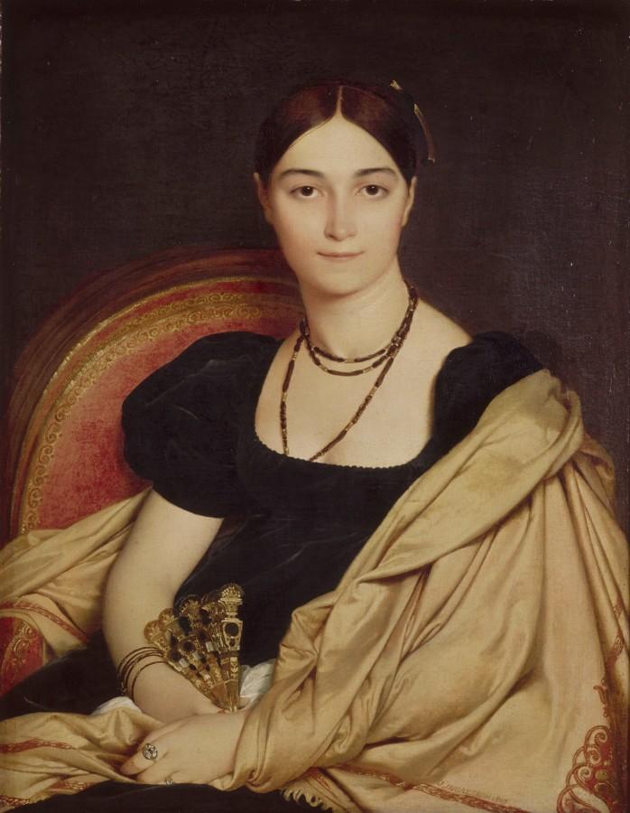 1807_Портрет мадам Девосе (76 х 59 см) (Шантильи, музей Конде)