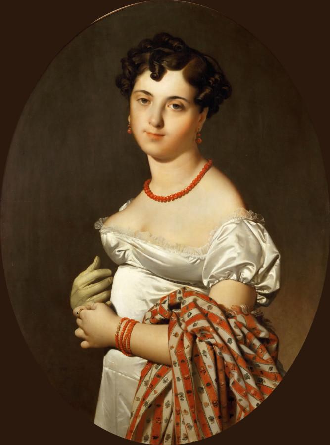 1811_Мадам Панкук, Сесиль Буше (95 х 68 см) (Париж, Лувр)
