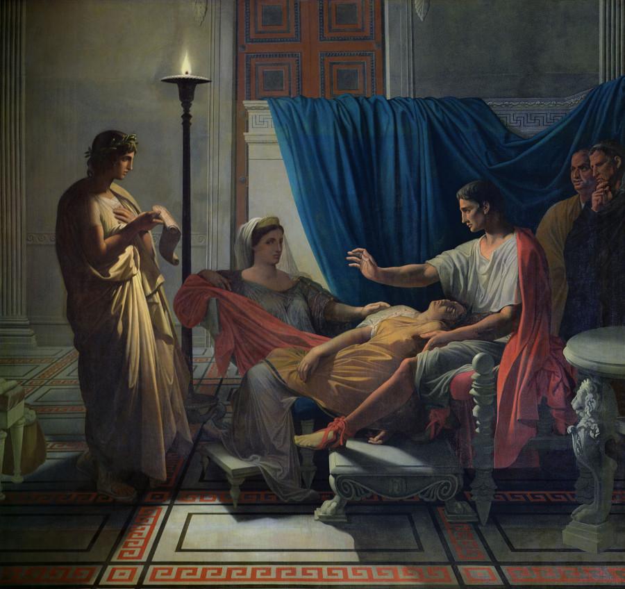 1812 (ок)_Вергилий, читающий Энеиду (Тулуза, Музей августинцев)